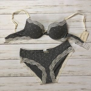 Forever 21 bra set. Adorable bra and panties 34C